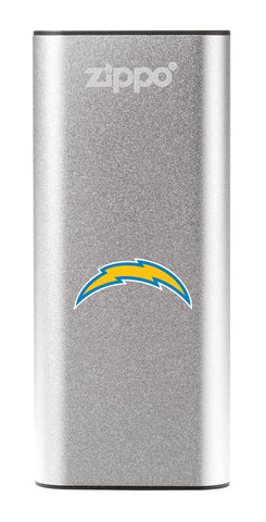 Silver NFL Los Angeles Chargers: HeatBank 3-Hour Rechargeable Hand Warmer