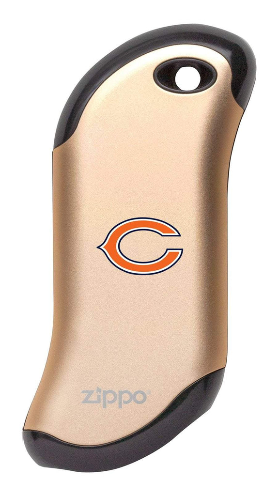 Front of champagne NFL Chicago Bears: HeatBank 9s Rechargeable Hand Warmer