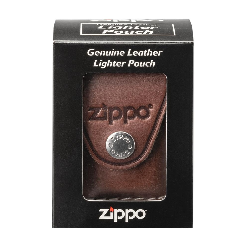 Brown Lighter Pouch- Loop in its packaging