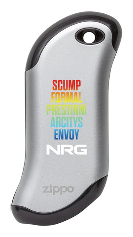 NRG Chicago Huntsman Team: HeatBank<sup>®</sup> 9s Rechargeable Hand Warmer