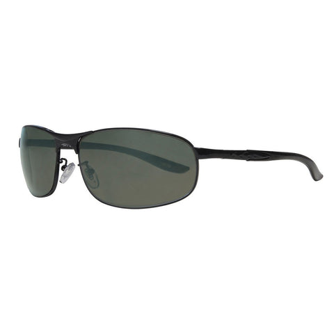 Smoke Flash Wrap Sunglasses
