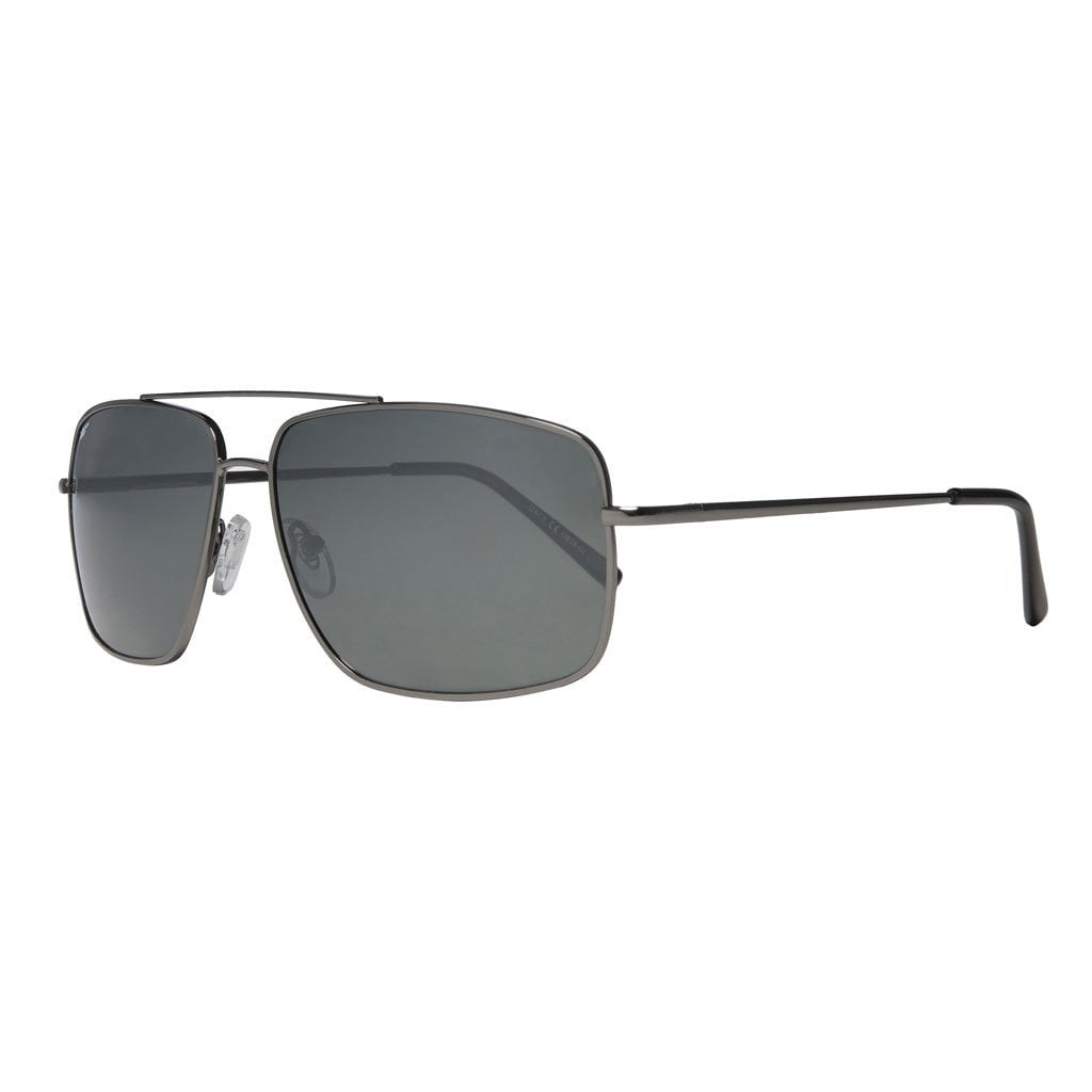 Silver Pilot Rectangle Sunglasses Black Rectangle Pilot Sunglasses 6af7718d7e1