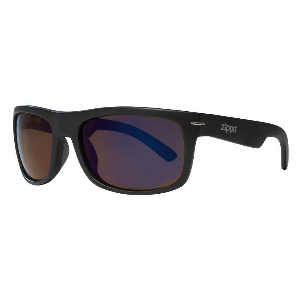 Classic Blue Flash Lens Sunglasses