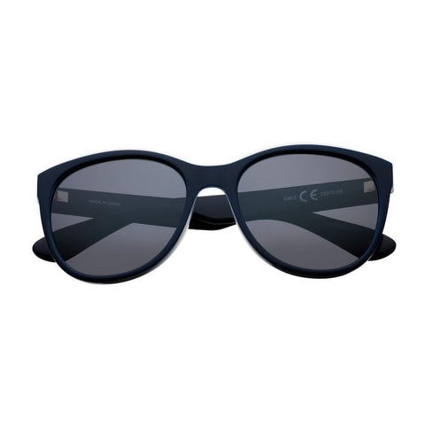 Black/Mint Polarized Oversized Sunglasses