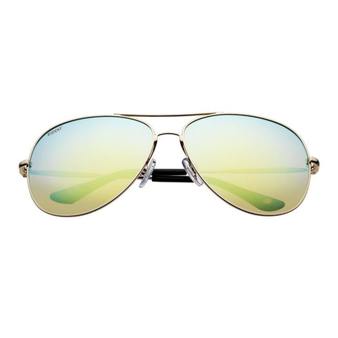 Muli-Green Reflective Polarized Pilot Sunglasses