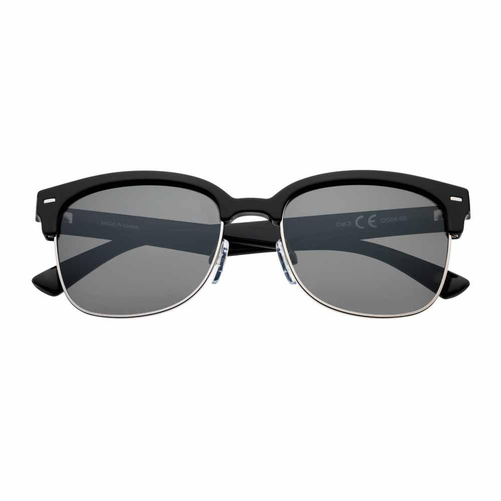 Eyewear — Dark Green Polarized Semi-Rimless Sunglasses | Zippo.com
