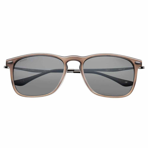 Pale Taupe Polarized Teardrop Sunglasses