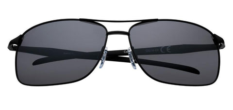 Black Polarized Pilot Sunglasses