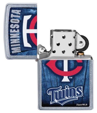 MLB™  Minnesota Twins™ with its lid open and unlit
