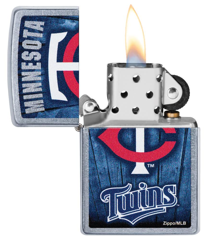 MLB™  Minnesota Twins™ with its lid open and lit