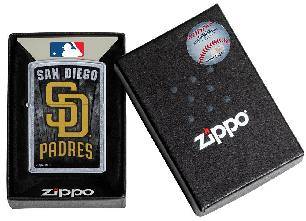 MLB San Diego Padres Lighter in its packaing