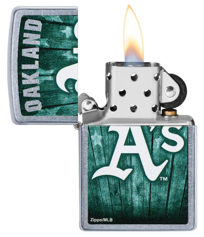 MLB™  Oakland Athletics ™ with its lid open and lit