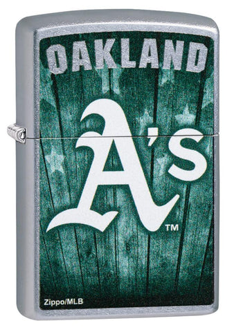 Front shot of MLB™ Oakland Athletics ™ standing at a 3/4 angle