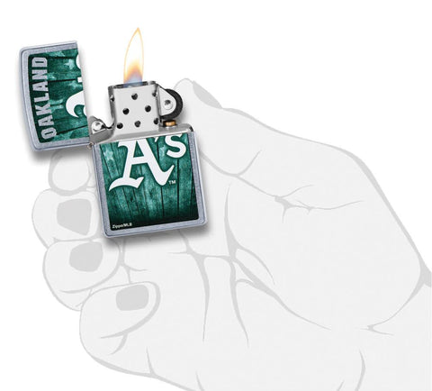MLB™  Oakland Athletics ™ lit in hand