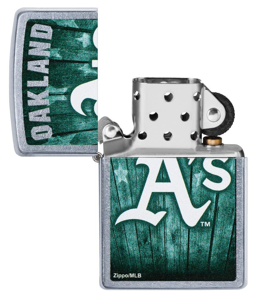 MLB™  Oakland Athletics ™ with its lid open and unlit