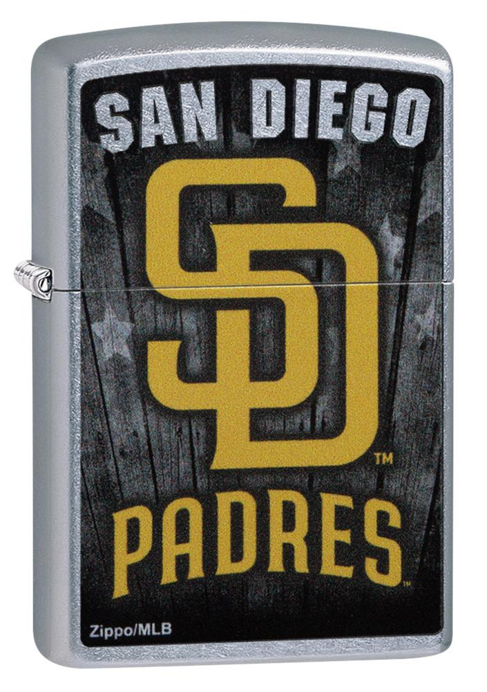 Front shot of MLB San Diego Padres Lighter standing at a 3/4 angle