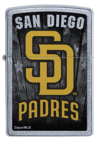 Front shot of MLB San Diego Padres lighter