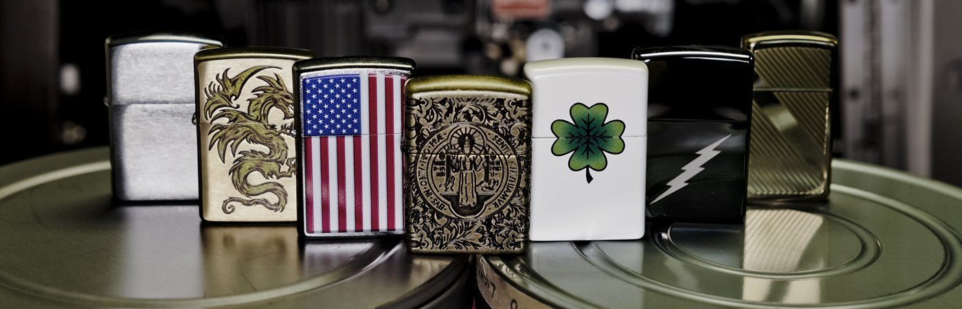 Light the Night: Set the mood this Valentine's Day with a custom Zippo lighter.