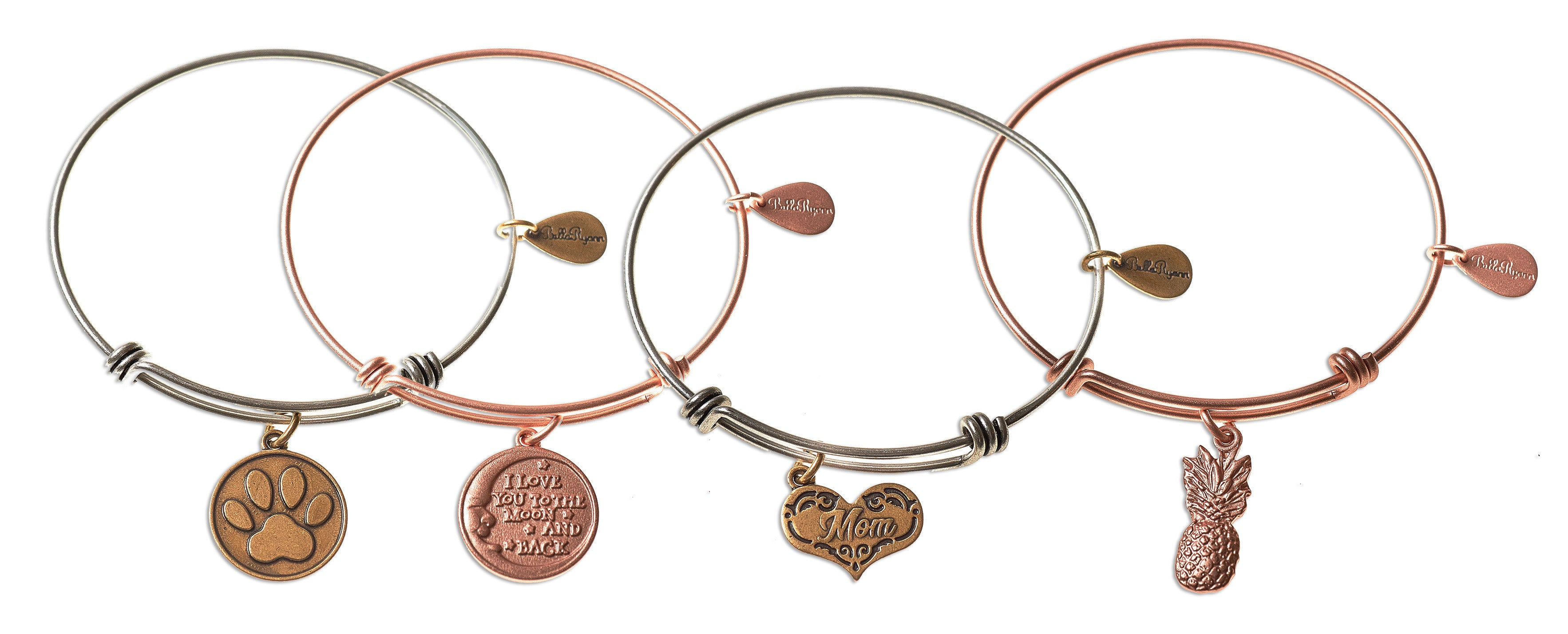 bangles braver winnie hi charms couture you and the ts plated believe with bangle from res accessories pooh gold than disney rose watches truffleshuffle bracelets stackable jewellery