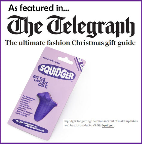 Squidger in the Telegraph