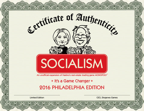 SOCIALISM: The Game – Philadelphia Edition