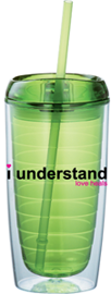 16oz Double-wall Green Tumbler