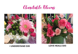 Charitable Blooms - love heals