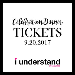 Celebration Dinner Tickets