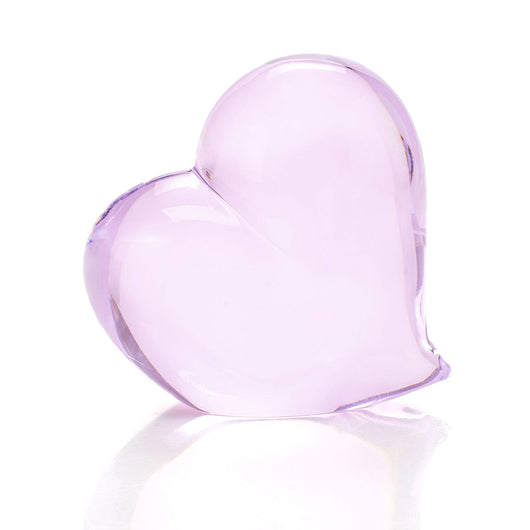 Pink Crystal Heart by Waterford