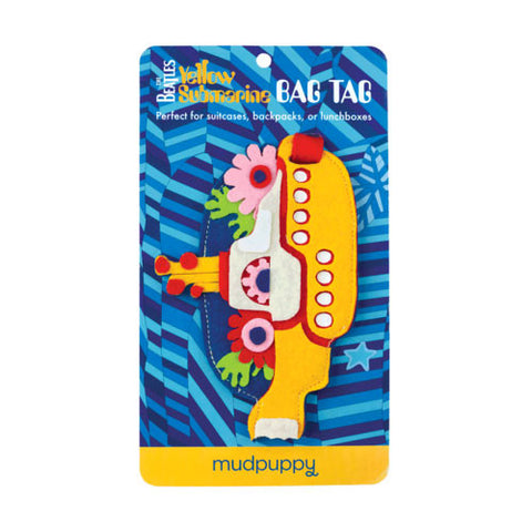 Beatles Yellow Submarine Luggage Tag