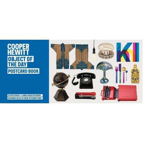 Cooper Hewitt Object of the day Mini-Book & Postcard Set
