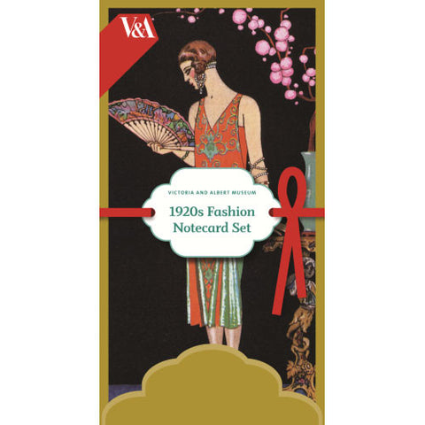 1920s Fashion Notecard Set
