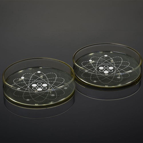 Science Petri Dish Dipping Bowl Set