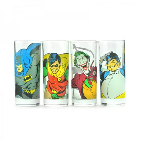 Batman Characters Glasses Set