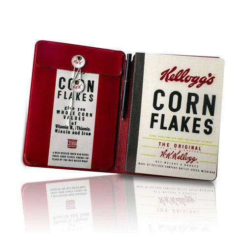 Kellogg's Cornflakes Notebook and Pen Set Interior