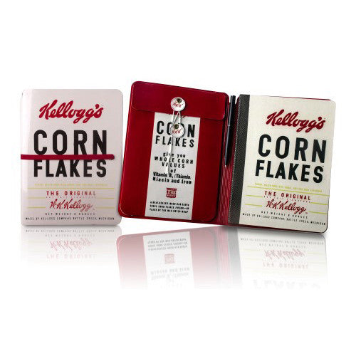 Kellogg's Cornflakes Notebook and Pen Set Spread