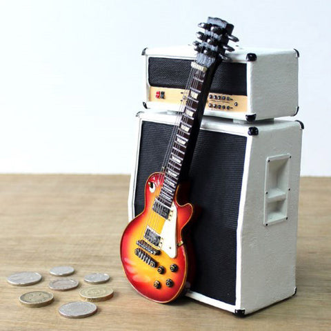 Electric Guitar & Amp Money Box