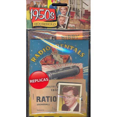 Household Memorabilia Pack (1950s)
