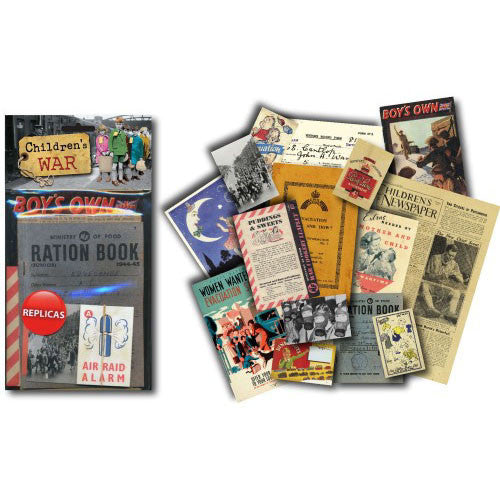 Children's War Memorabilia Pack (1940s) Spread