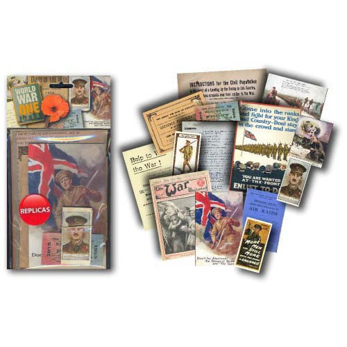 World War 1 Memorabilia Pack (1910s) Spread