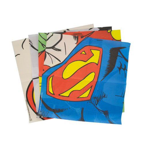 DC Comics Dress Up Napkins Spread