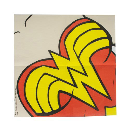 DC Comics Dress Up Napkins Wonder Woman