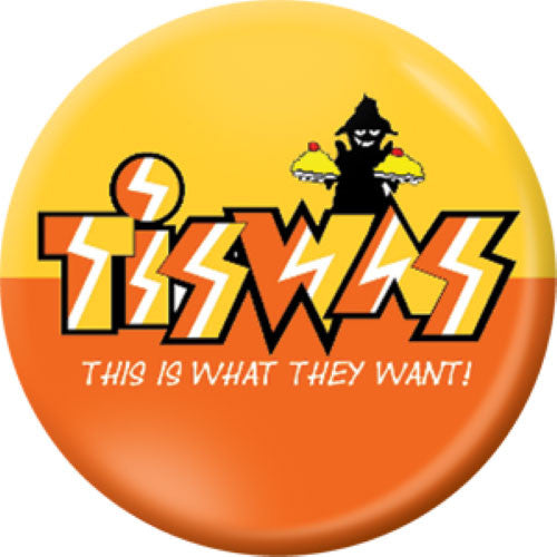 A Child Of The 1970s Button Badge Set Tiswas