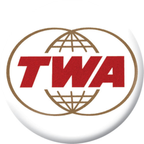 Lost Airlines Button Badge Set TWA
