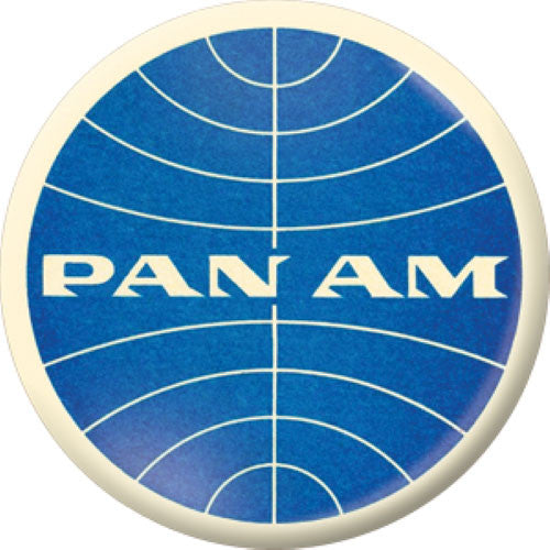 Lost Airlines Button Badge Set Pan Am