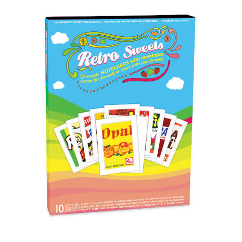 Retro Sweets Notecards Box Set