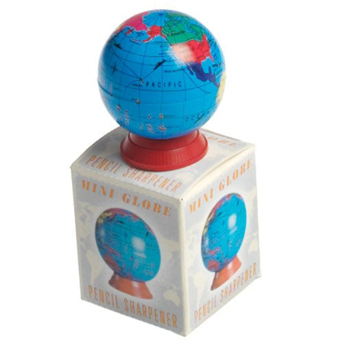 Mini Globe Pencil Sharpener