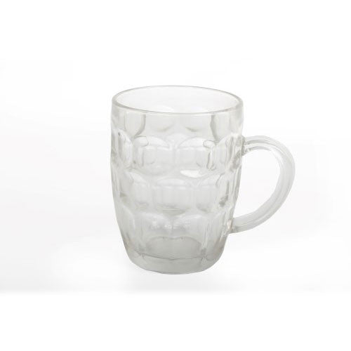 Dimpled Beer Pint Glass