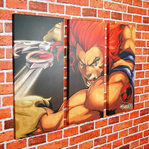 Lion O Thundercats Canvas Art Print Trptych Right