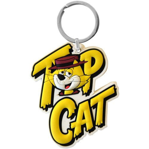 Top Cat Flexible Keyring